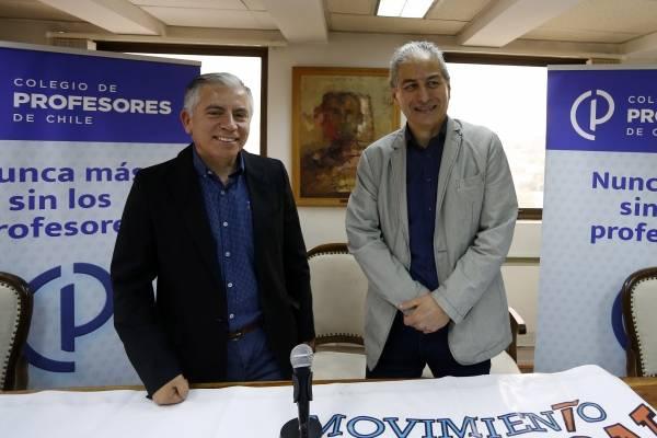 Ganó la continuidad: Carlos Díaz es el nuevo presidente del Colegio de Profesores