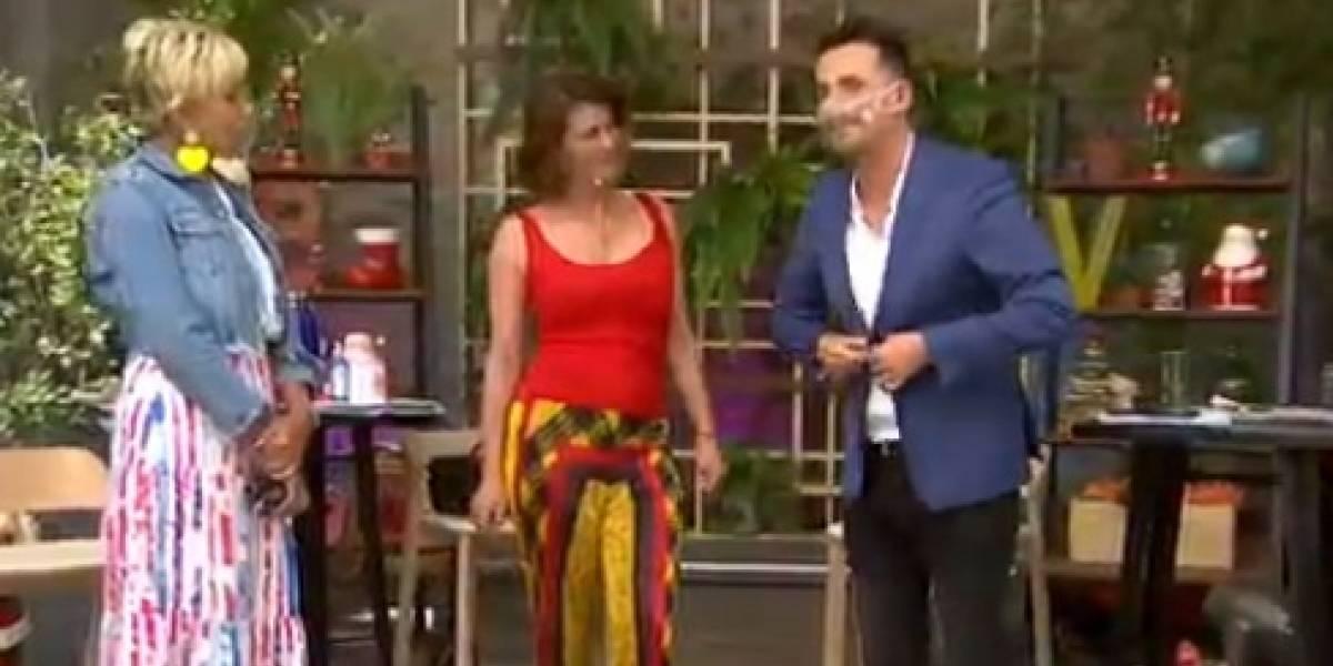 """""""¿Qué andabas haciendo en TVN?"""": la pregunta de Raquel Argandoña a Sergio Lagos ante rumores de posible salida de Canal 13"""