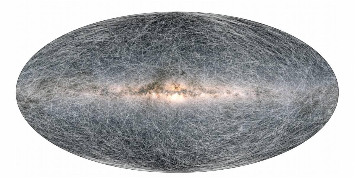 Este es el mapa 3D de la Vía Láctea más detallado que se ha creado