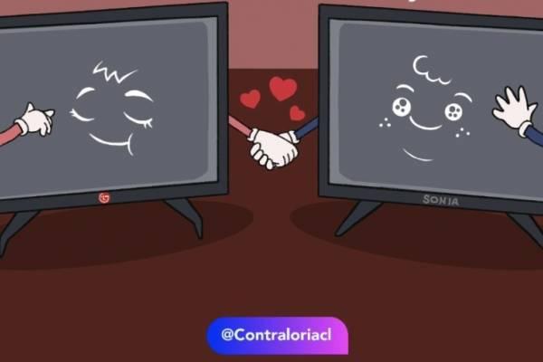 Contralorito subió al columpio a usuario de redes sociales que confundió comunidad LGTBIQ+ con marca de televisores