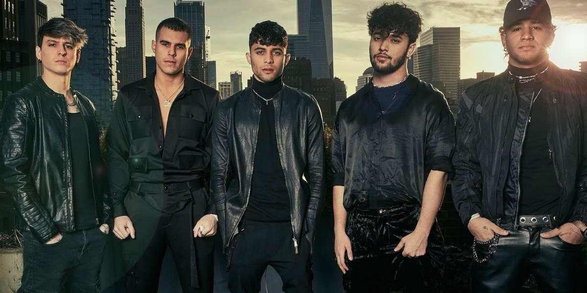 CNCO retro: éxitos románticos de los 90 al estilo de 'boy bands'