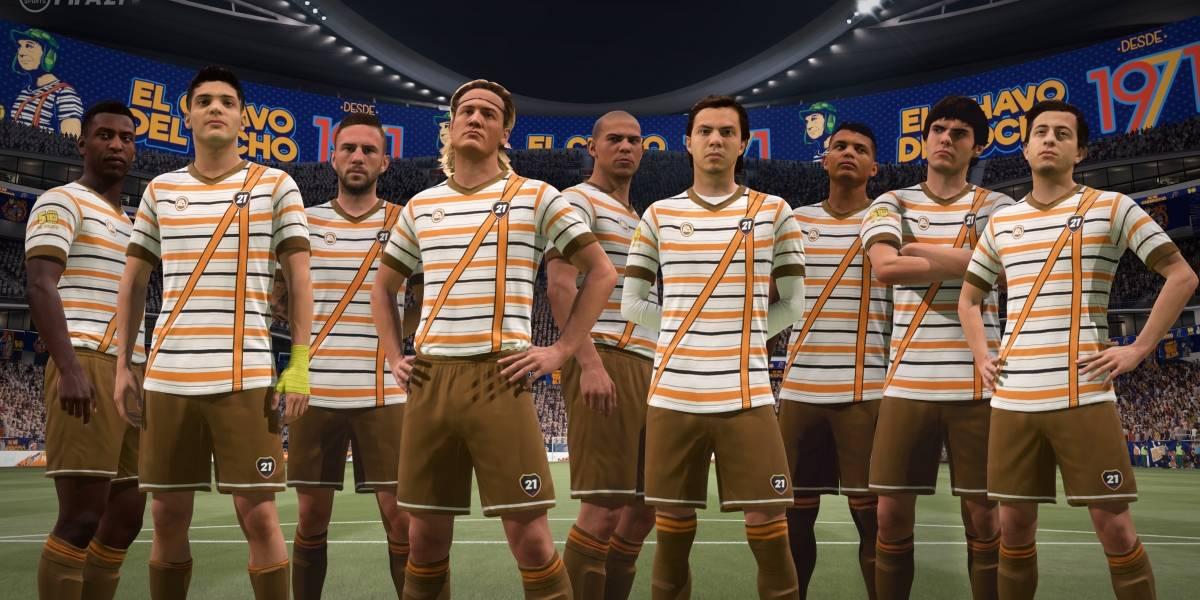 """""""Fue sin querer queriendo"""", FIFA 21 homenajea a """"Chespirito"""""""