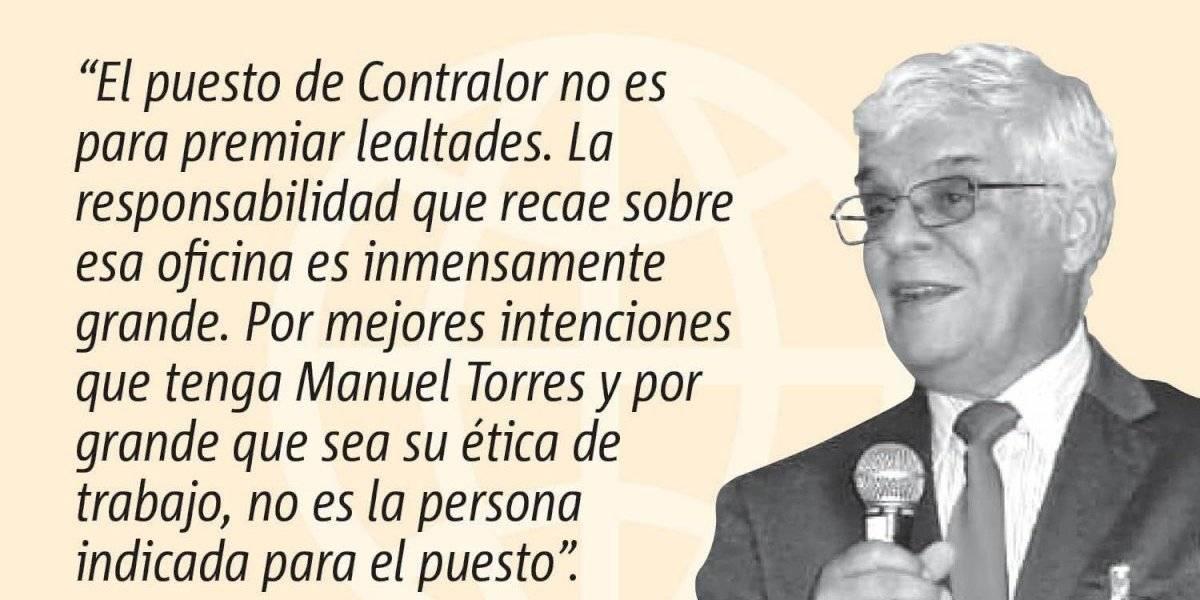 Opinión de José A. González Taboada: El Nuevo Contralor de Puerto Rico (o La Nueva Contralora)