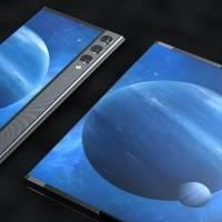 Xiaomi patenta smartphone que se enrolla y este render muestra cómo luciría