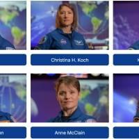 El equipo Artemisa de la NASA presentó a los 18 astronautas que viajarán a la Luna en el 2024