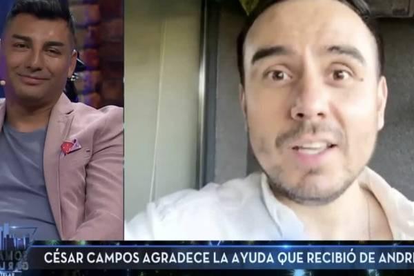 La confesión de Andrés Caniulef: tuvo romance con César Campos