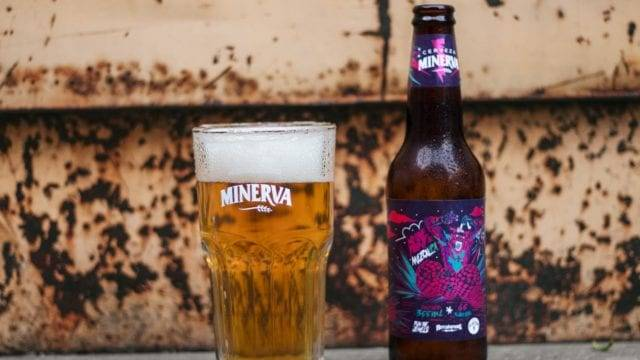 Cyberpunk 2077 cerveza