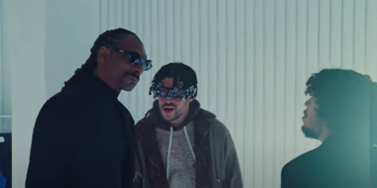 """Bad Bunny estrena video de """"Hoy Cobré"""" con aparición especial de Snoop Dogg"""