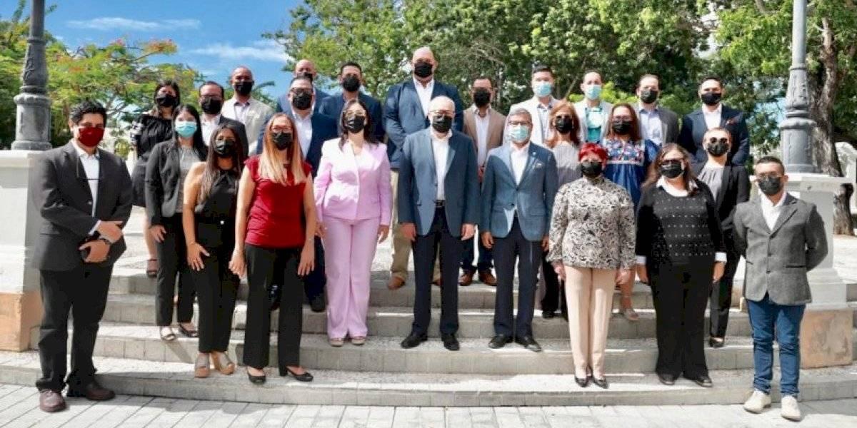 Alcalde electo de Ponce presenta integrantes de su gabinete municipal