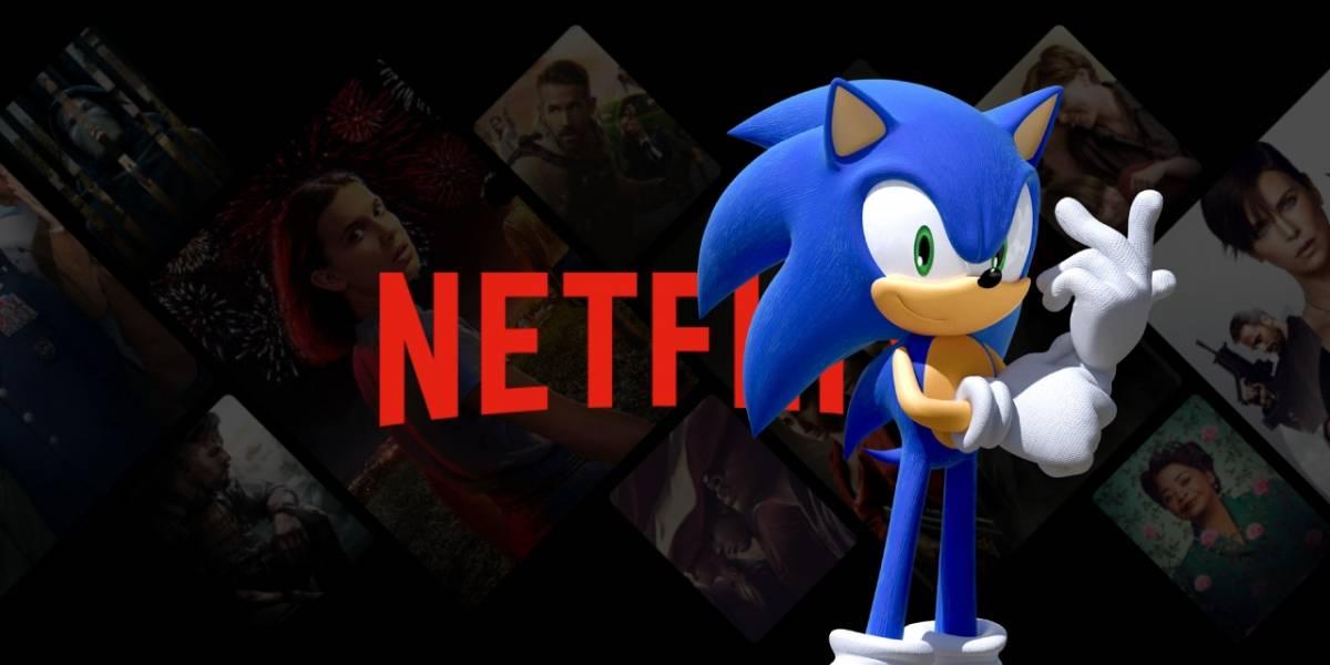 Netflix: se filtra por accidente serie animada de Sonic The Hedgehog en 3D