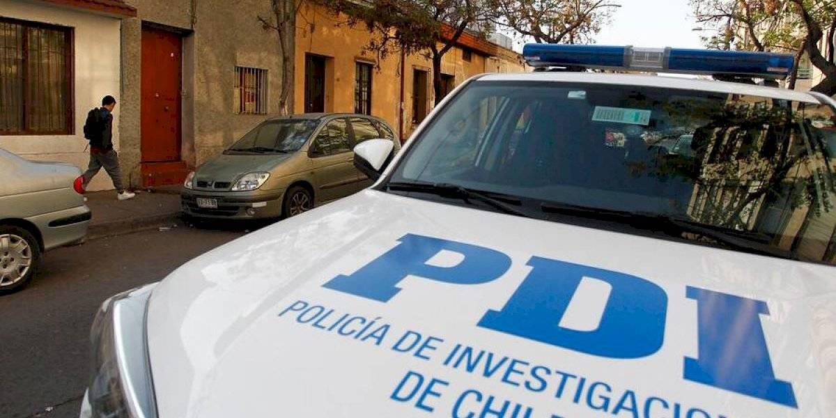 Muerte en Santiago Centro: ciudadano peruano falleció tras ser baleado mientras conducía un auto con encargo por robo