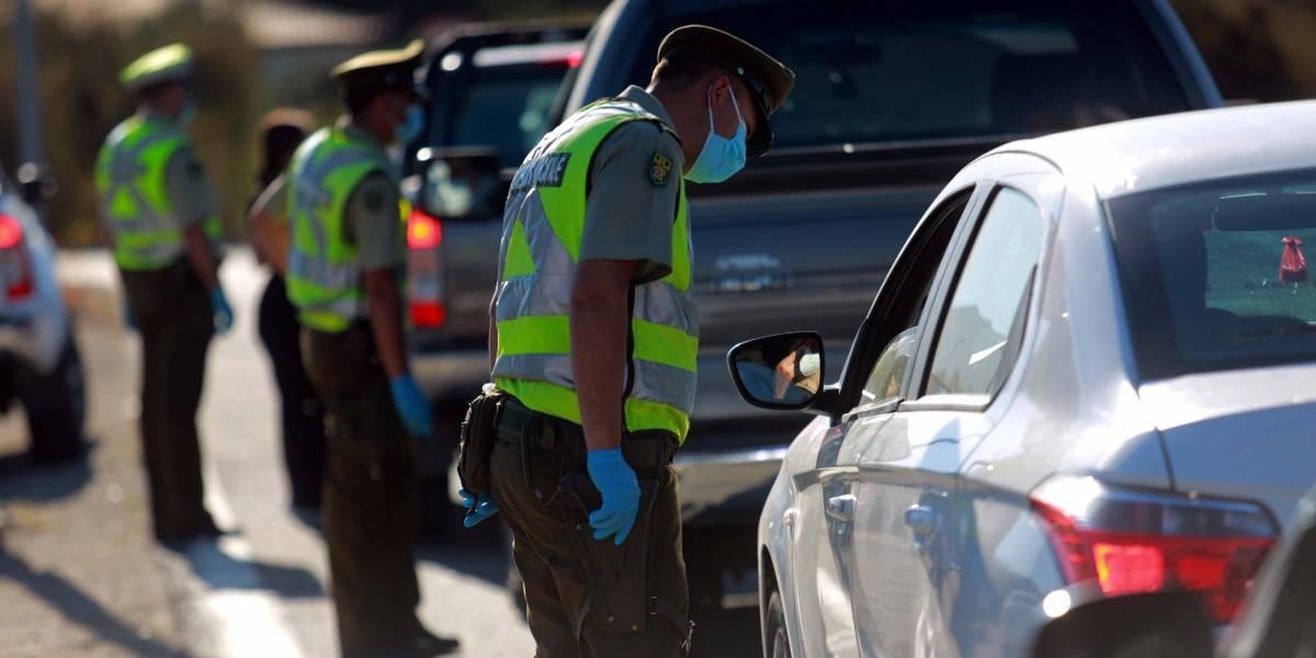 Más de 350 vehículos obligados a devolverse: intentaban salir de la Región Metropolitana en Fase 2