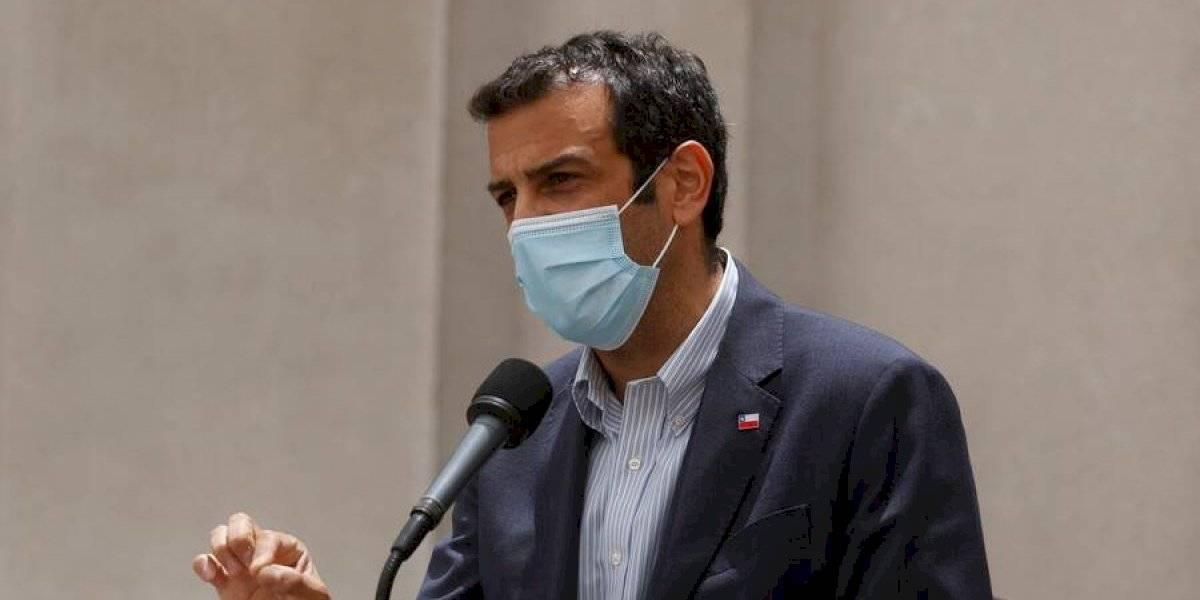"""Ministro Delgado: """"Cuando se quema un bus también se dinamita el estado de derecho y la dignidad de las personas"""""""