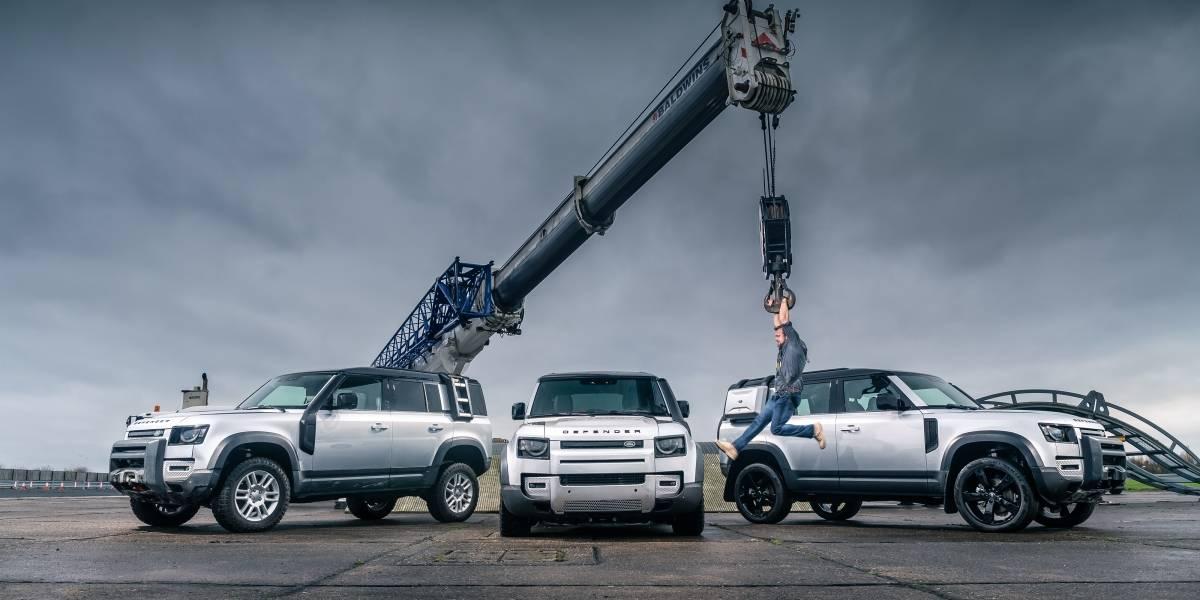 Land Rover Defender es premiado por partida doble por Top Gear