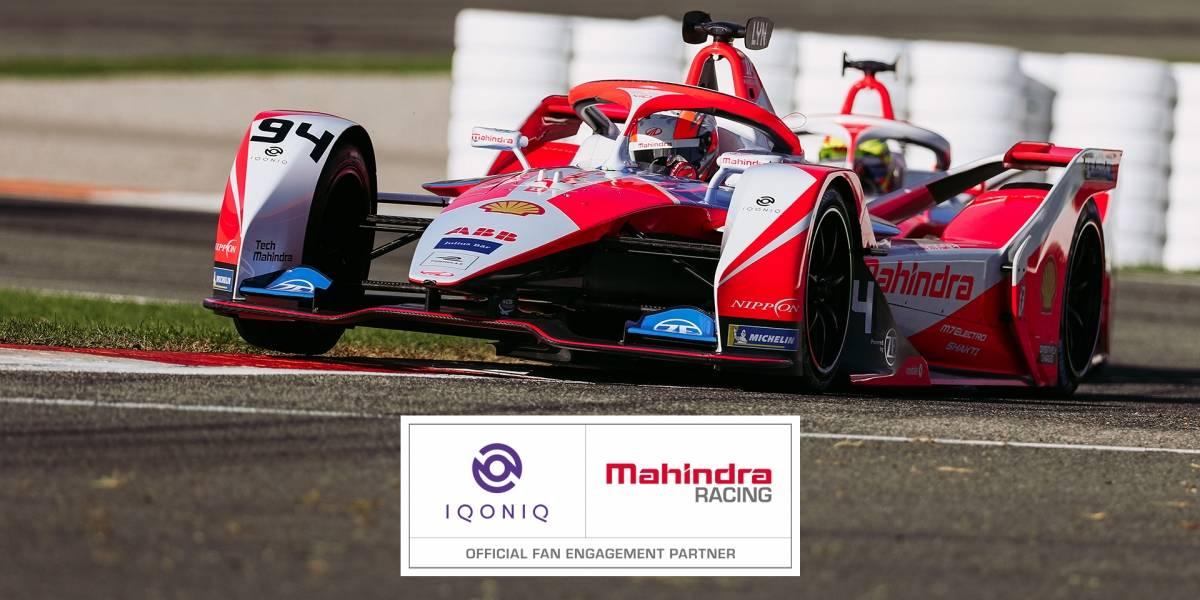 Mahindra Racing se asocia con la plataforma digital IQONIQ