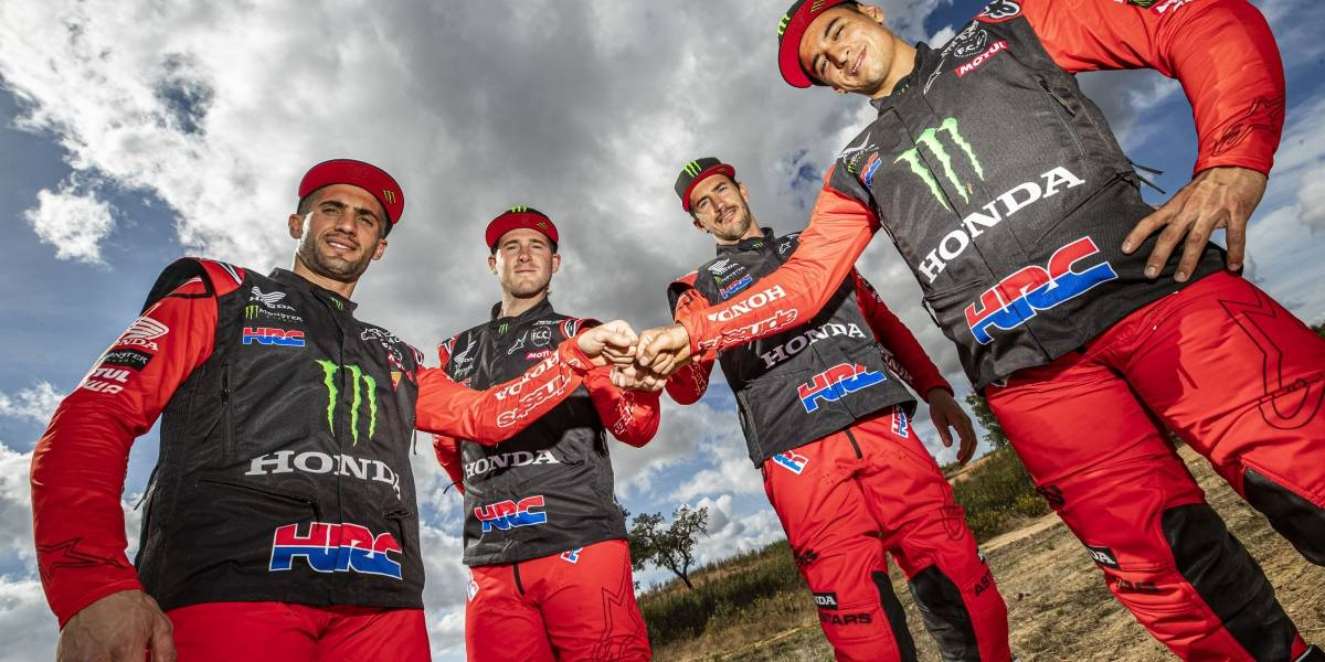 El equipo Honda HRC quiere revalidar el título del Dakar