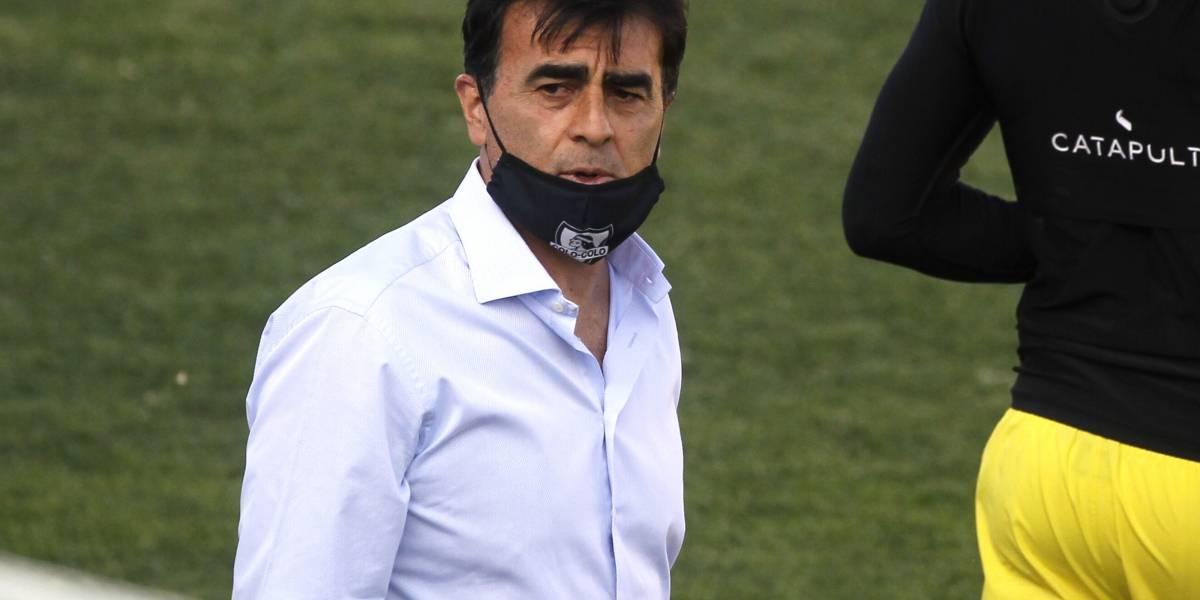 "Gustavo Quinteros tras victoria de Colo Colo: ""Si yo fuera cobarde me hubiese ido"""