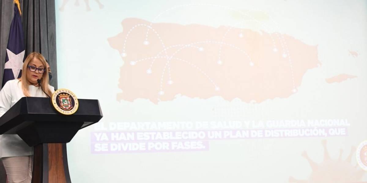 Gobernadora detalla plan masivo de vacunación COVID-19