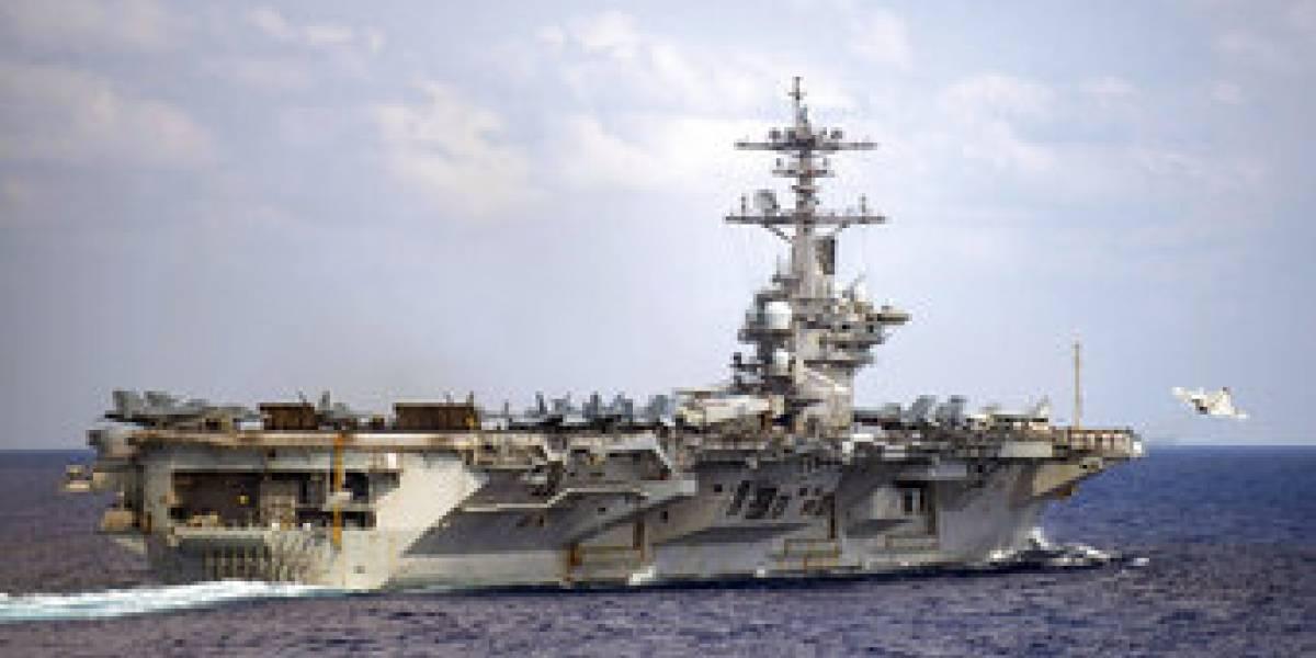 Así no ganan la guerra: aprendiz de piloto de la Marina de EE.UU. desapareció tras caer al mar desde un portaviones