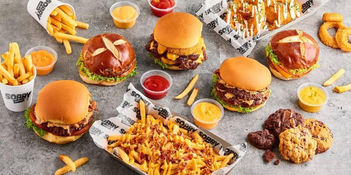 """¿Placer culpable? Así es """"Sorry Burger"""" una propuesta de hamburguesas a la medida ideal para mañosos"""