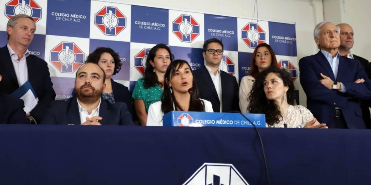 Polémica en las redes sociales por difusión de los sueldos de dirigentes del Colegio Médico
