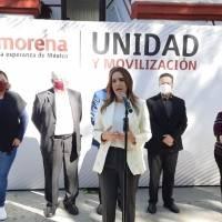 Designa Morena a Clara Luz como precandidata única a la gubernatura de Nuevo León