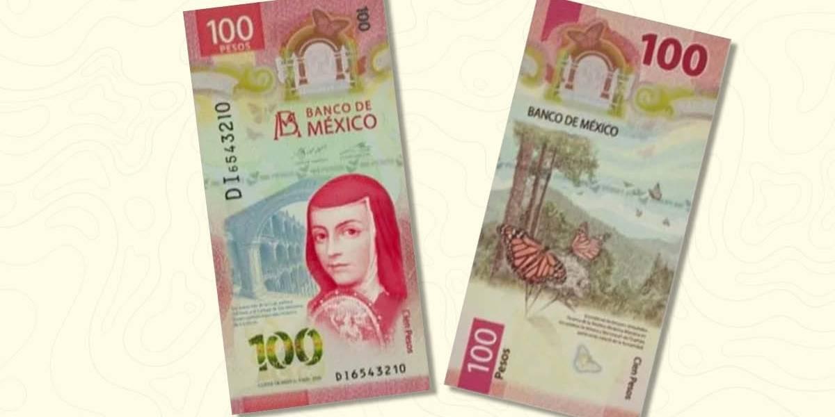 Nuevo billete de 100 pesos vale hasta seis mil pesos