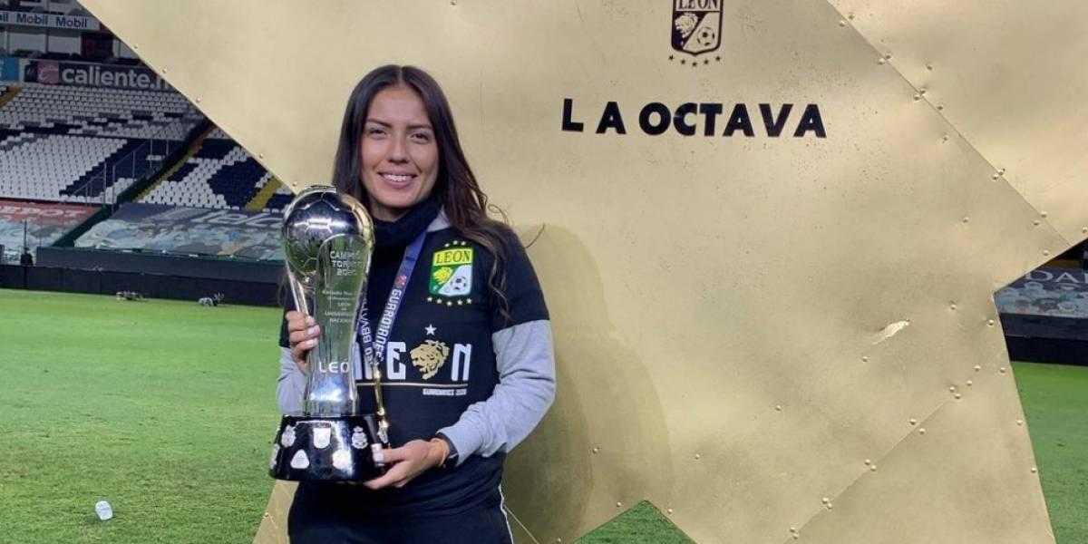 ¿Quién es la única mujer campeona con el León?