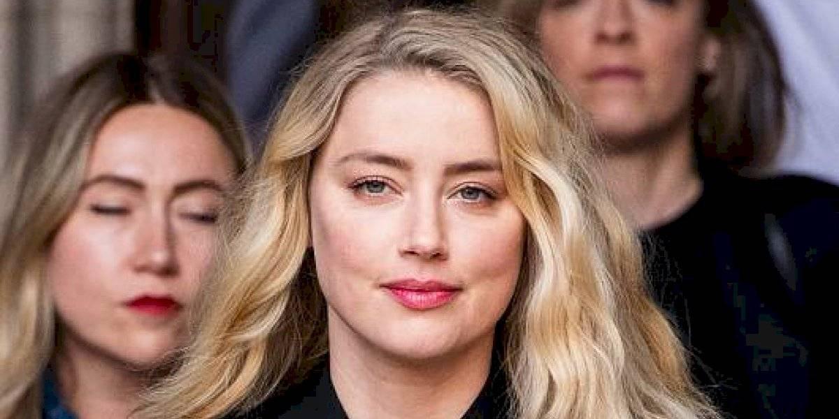 Amber Heard, expareja de Johnny Depp, cobra por dar charlas de violencia doméstica