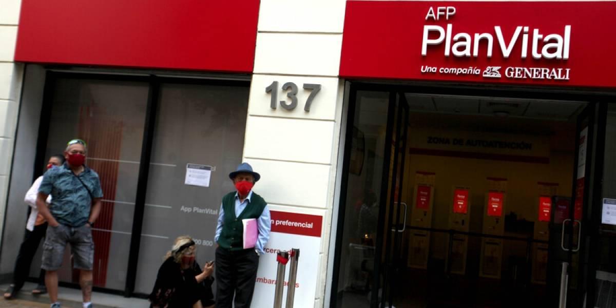 Pagos del segundo retiro de pensiones ya llegó a 725 mil personas