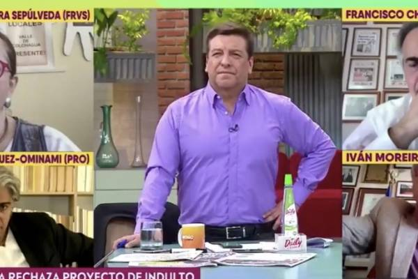 """Julio César paró en seco a Moreira: """"Aquí el único golpista declarado es usted"""""""