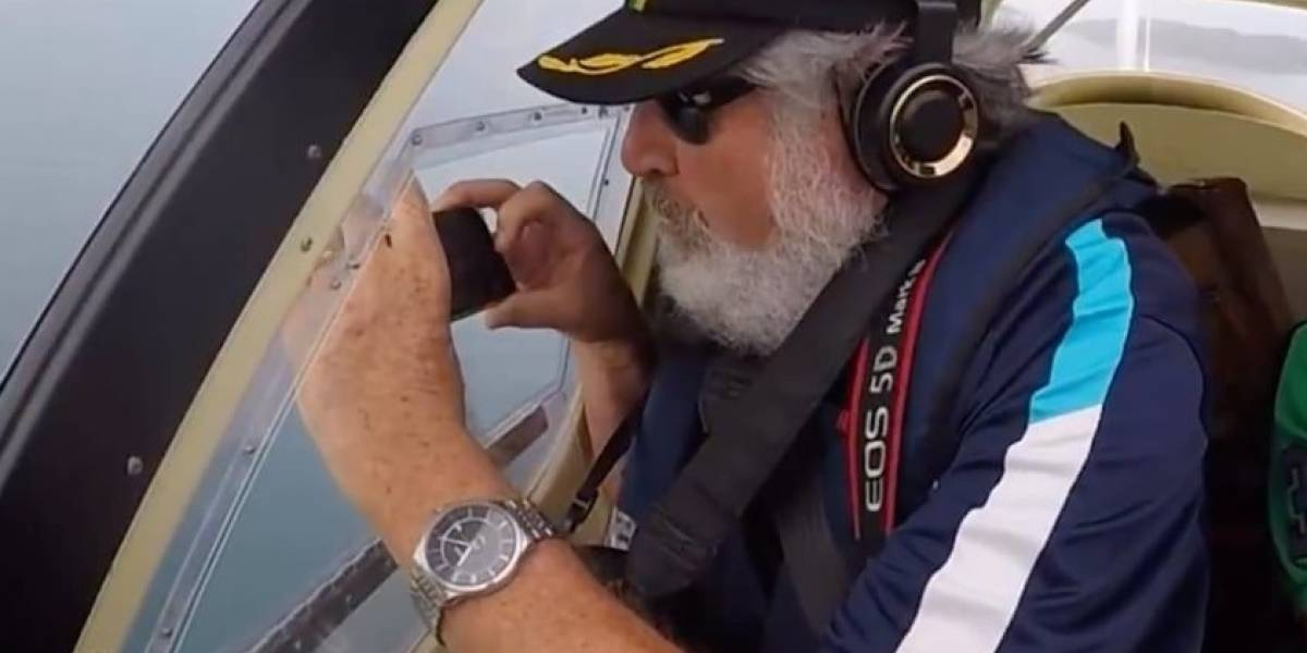 Un ambientalista deja caer su iPhone 6S desde un avión y horas después lo pudo recuperar intacto