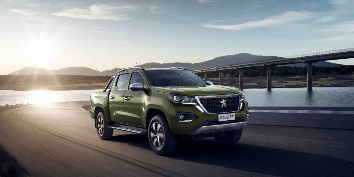 Peugeot debuta en el segmento de las pickups medianas