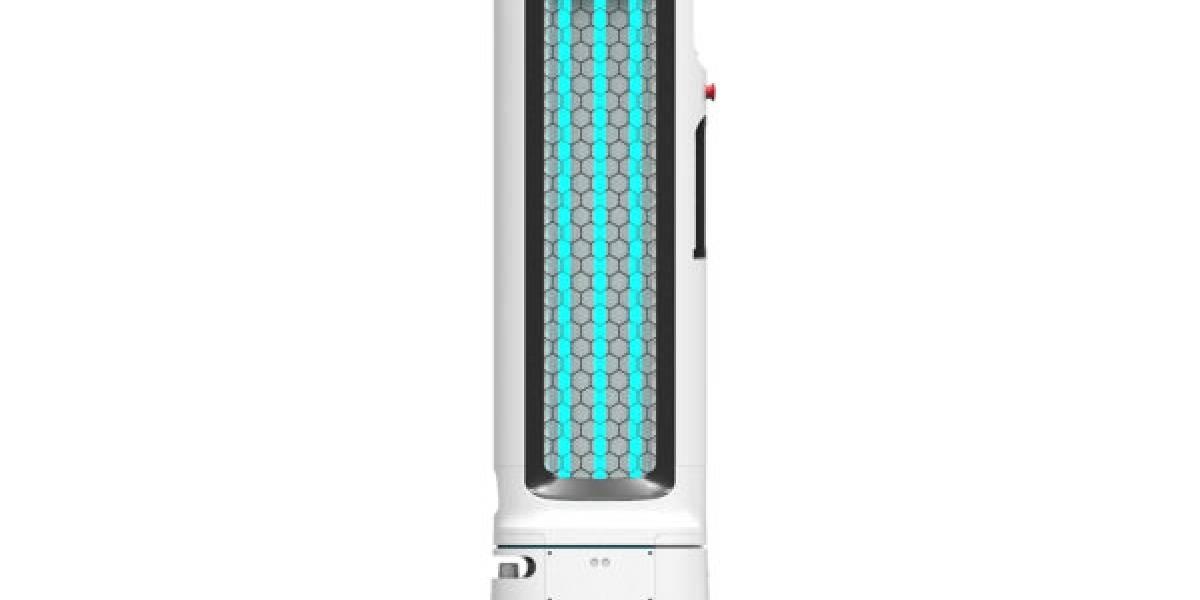 Así funciona el robot UV de LG que limpia espacios para prevenir el coronavirus