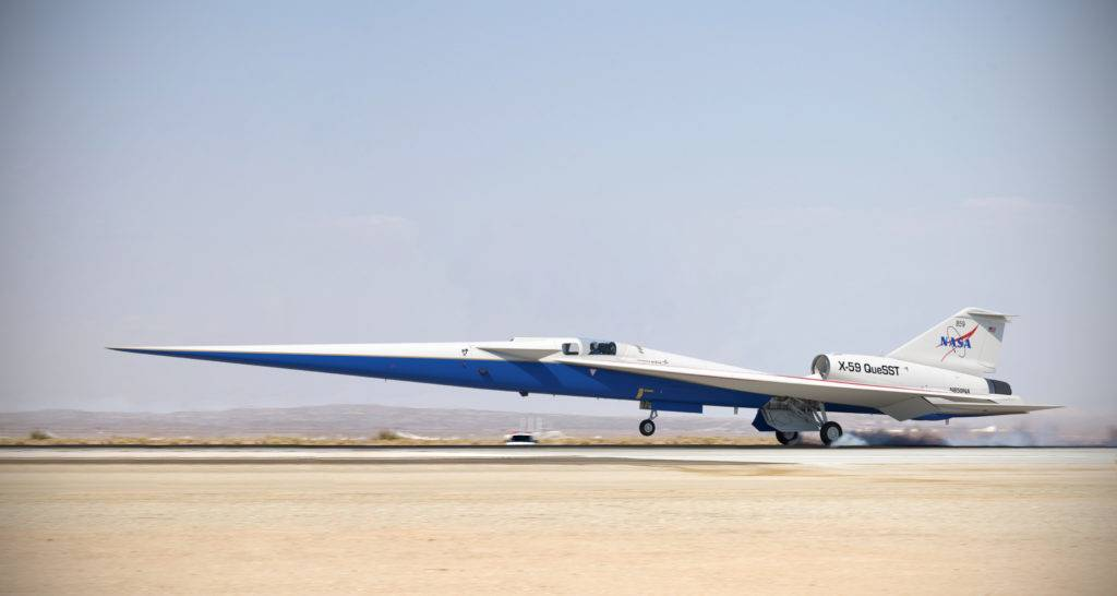 Supersonic X-59