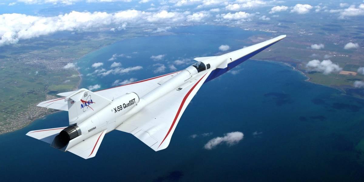 El silencioso Supersonic X-59 está más cerca gracias a un ensamblaje clave en el ala del avión, dice la NASA