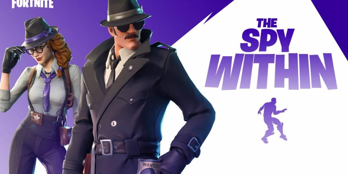 Por tiempo limitado Fortnite lanzó un modo de juego llamado The Spy Within y este se parece mucho a Among Us