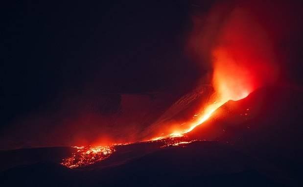 Volcán Etna Angela Platania