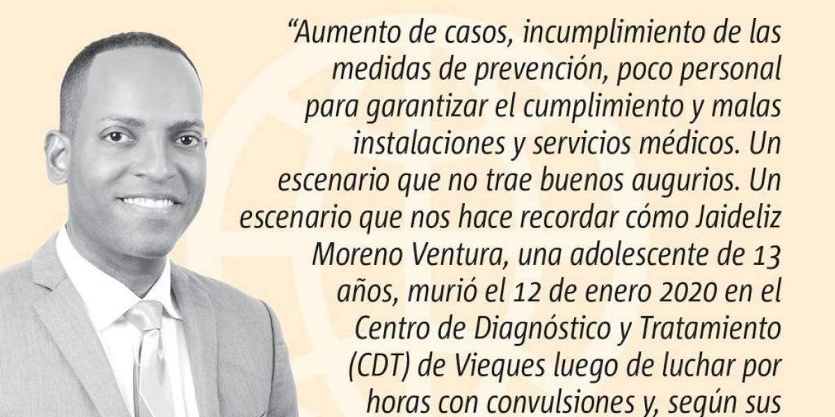 Opinión de Julio Rivera Saniel: Vieques y el COVID: otra vez la misma piedra
