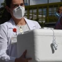 Salud refiere a las autoridades federales asunto vacunas encontradas en la calle