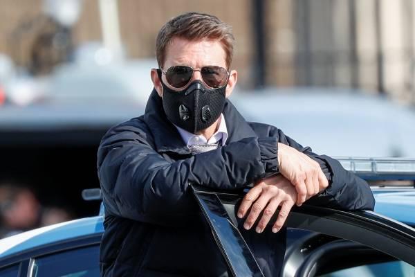 """Tom Cruise estalla en rodaje de """"Misión Imposible"""" contra dos trabajadores por no cumplir distanciamiento social"""