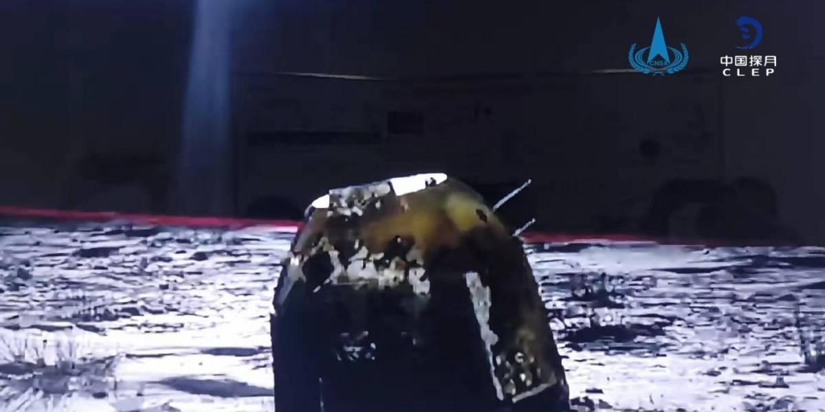 Ciencia.-La misión china Chang'e-5 regresa a la Tierra con muestras lunares y semillas