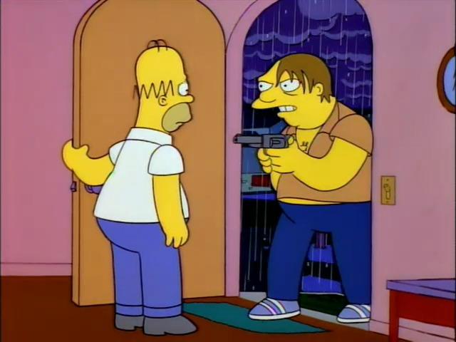 Los Simpson Barney
