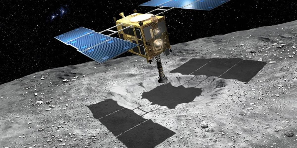 La sonda espacial Hayabusa 2 de la JAXA trajo a la Tierra el primer material en estado gaseoso de toda la historia espacial