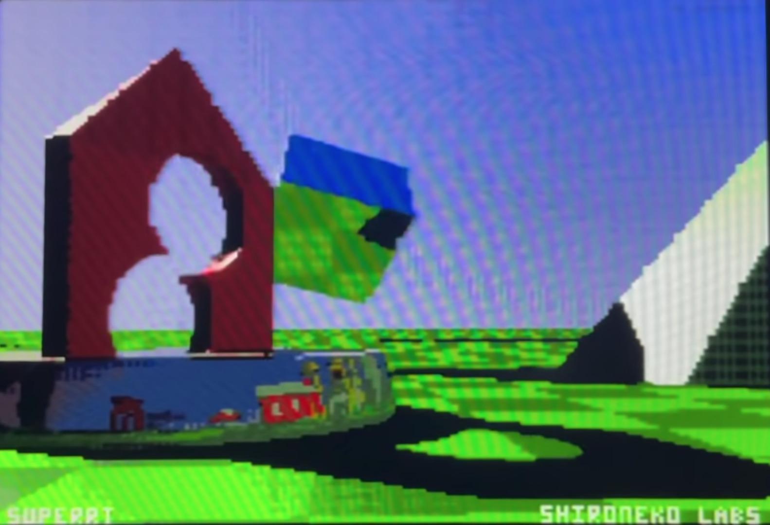 Super Nintendo ray tracing