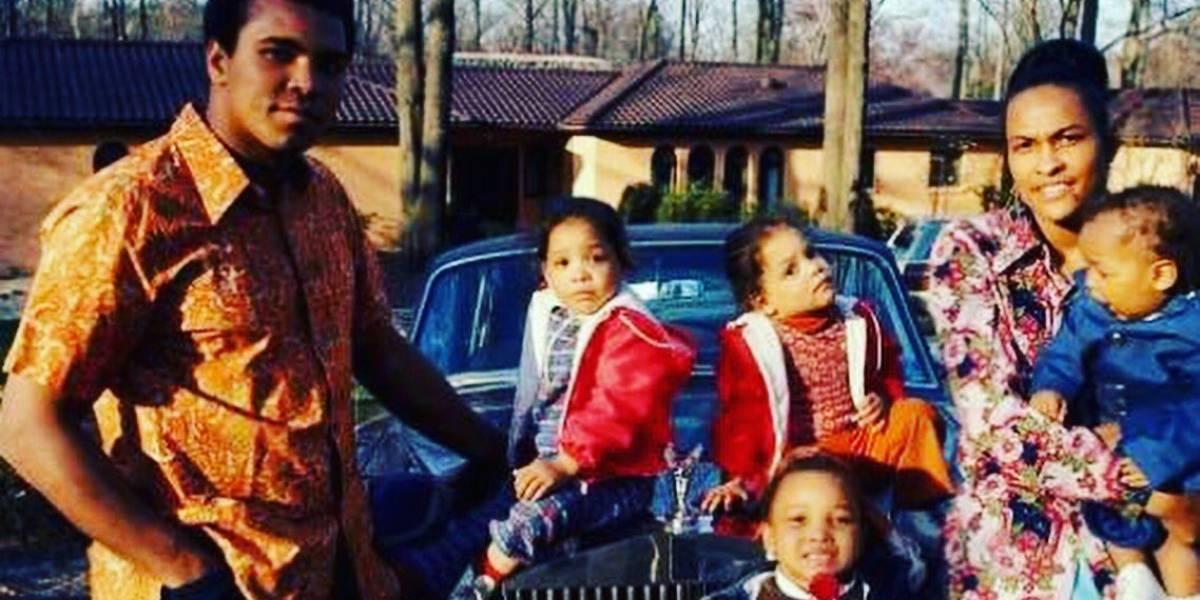 Muhammad Ali, el boxeador con cuatro esposas y diez hijos