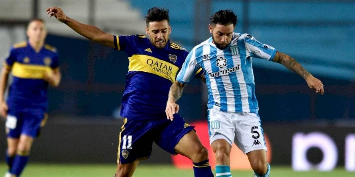 El Racing de los chilenos dio el primer golpe ante Boca en la Libertadores: Eugenio Mena fue figura