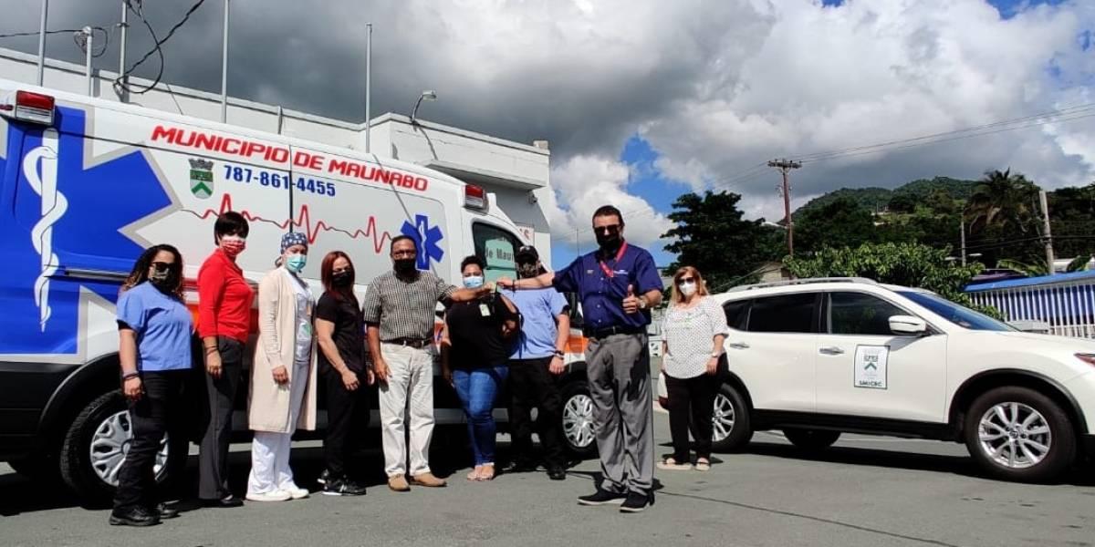 Municipio de Maunabo adquiere nueva ambulancia y vehículos para oficina rastreo de COVID