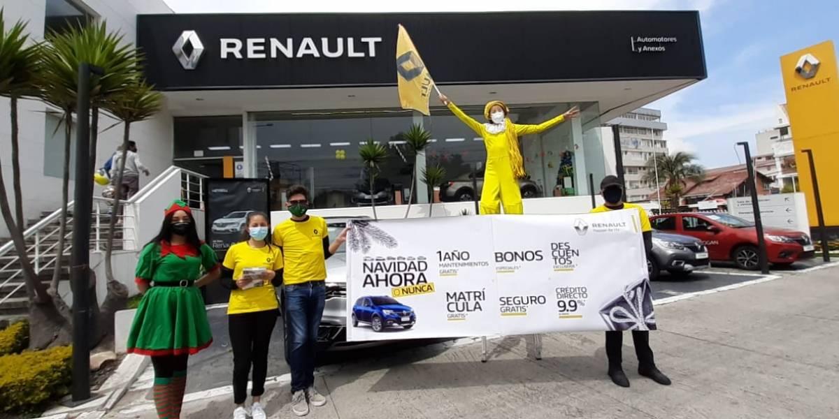 Renault brinda descuentos y beneficios por época navideña