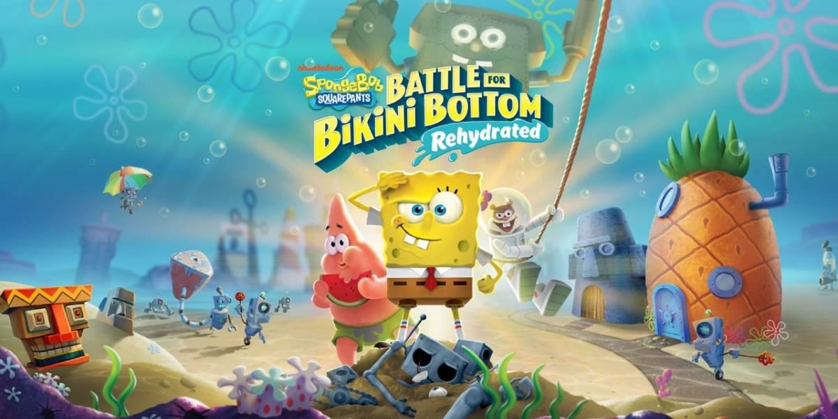 Bob Esponja: ya está en español latino el juego Battle for Bikini Bottom Rehydrated